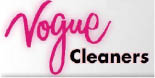 VOGUE CLEANERS / ELDRIDGE logo