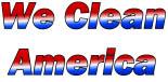 We Clean America logo Los Angeles, CA