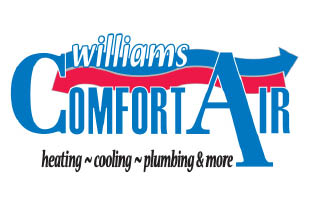 Save $100 on a Heating Repair -OR- Save $80 on a Plumbing Repair from WILLIAMS COMFORT AIR