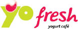 Yo Fresh Self-Serve Frozen Yogurt Logo for South Plainfield, NJ Location Near Edison, NJ