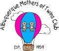 ALBUQUERQUE MOTHERS OF TWINS CLUB logo