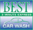 car wash louisville Best Express car wash logo
