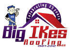 Big Ike's Roofing logo in Michigan
