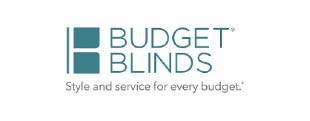 Budget Blinds logo in Dublin OH