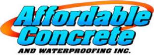 Affordable Concrete Logo