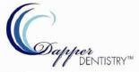 Dr. Dapper Dentistry logo in San Clemente, CA