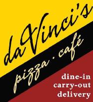 DA VINCI'S GOURMET PIZZA logo