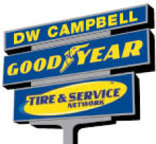 dw campbell goodyear sign