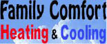 FAMILY COMFORT HEATING & COOLING logo