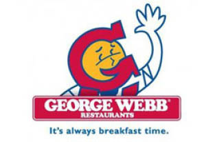 GEORGE WEBB - Super George Combo $5.99 plus tax  Double with melted American cheese, lettuce and thousand Island  dressing. Includes fries, soup or hashbrowns.
