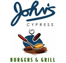10% OFF* Catering Coupon @ John's Burgers & Grill in Cypress