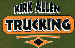 Kirk Allen Trucking logo in New Jersey