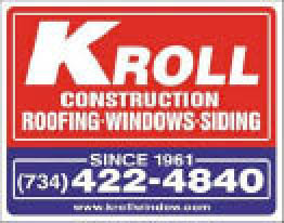 Kroll Construction Company Roofing in Garden City MI logo