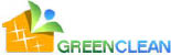 Green Clean logo in color.