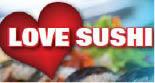 LOVE SUSHI logo