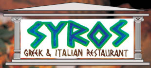 Syros Greek and Italian restaurant in Lynden logo