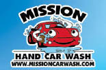 Mission Hand Car Wash & Quik Lube - Santa Rosa, CA - 100% Hand Car Wash - Logo