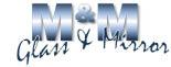 M&M Glass & Mirror logo
