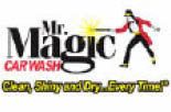 Logo for car wash services at Mr Magic Carwash in Pittsburgh PA