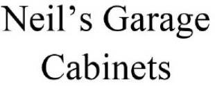 NEIL'S GARAGE CABINETS logo