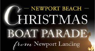 Newport Landing Christmas Boat Parade and Holiday Cruise logo Newport Beach, CA