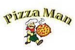 Pizza Man Logo, Pizza Shop Logo