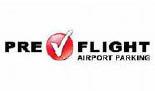 PreFlight Parking at Thurgood Marshall Airport logo in Baltimore maryland