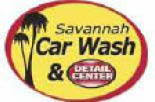 SAVANNAH CAR WASH & DETAIL CENTER logo