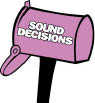 Sound Decisions in Racine, WI car audio sales, service and installations near Milwaukee logo