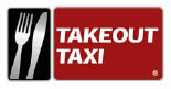 Takeout Taxi Louisville KY restaurant delivery logo