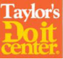 Taylor's Do It Center logo in Hampton Roads VA area