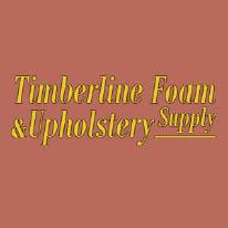 TIMBERLINE FOAM & UPHOLSTERY SUPPLY logo