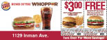 Burger King Coupons In Edison