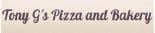 Tony G's Pizza And Bakery