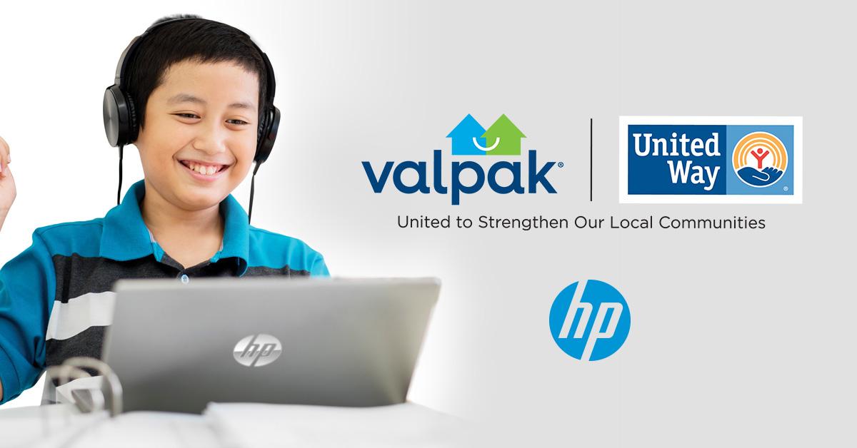 Valpak | United Way and HP