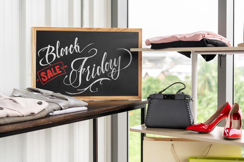 black friday holiday advertising