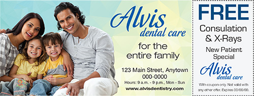 coupon advertising for dental business
