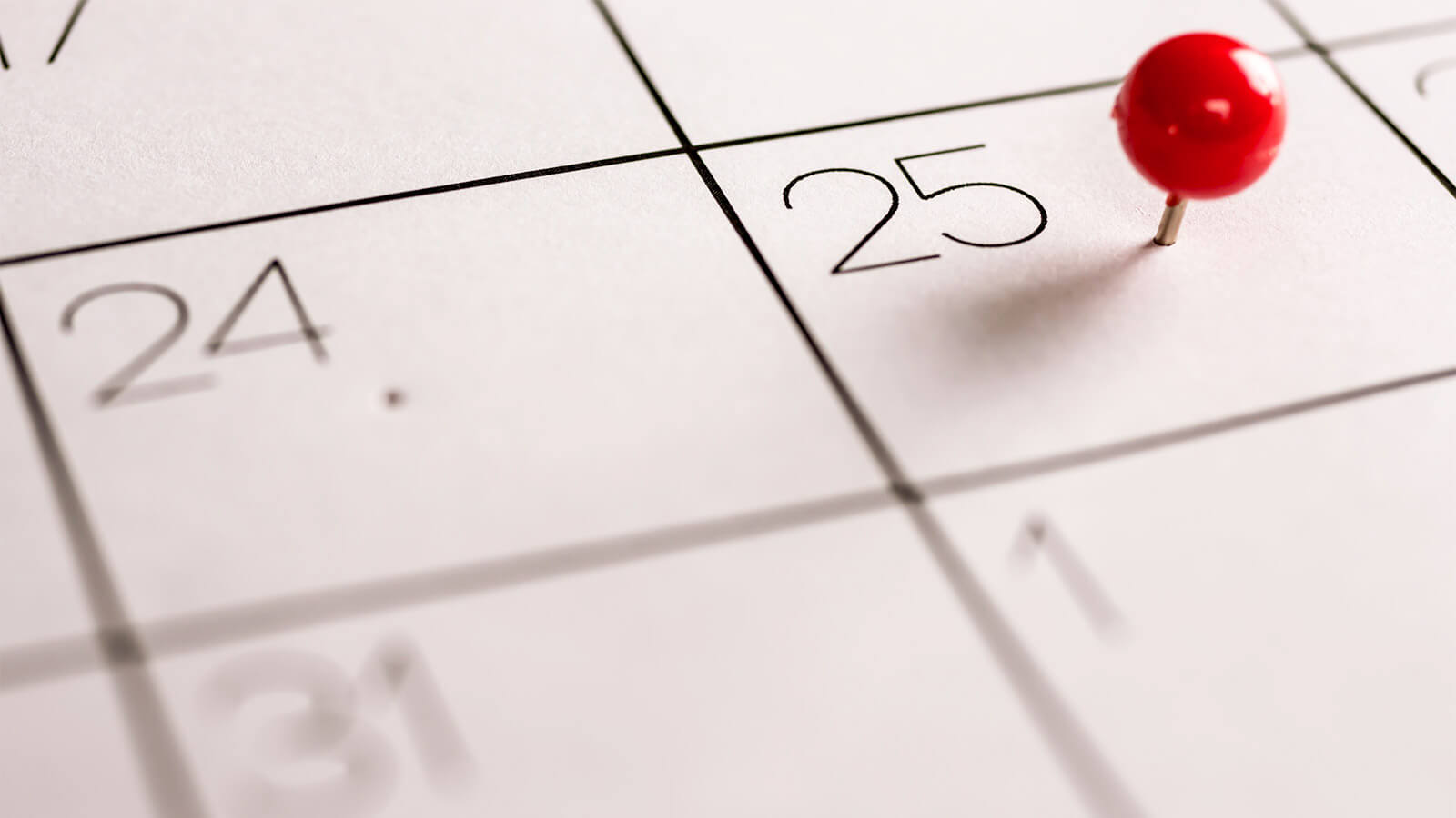small business marketing calendar dates