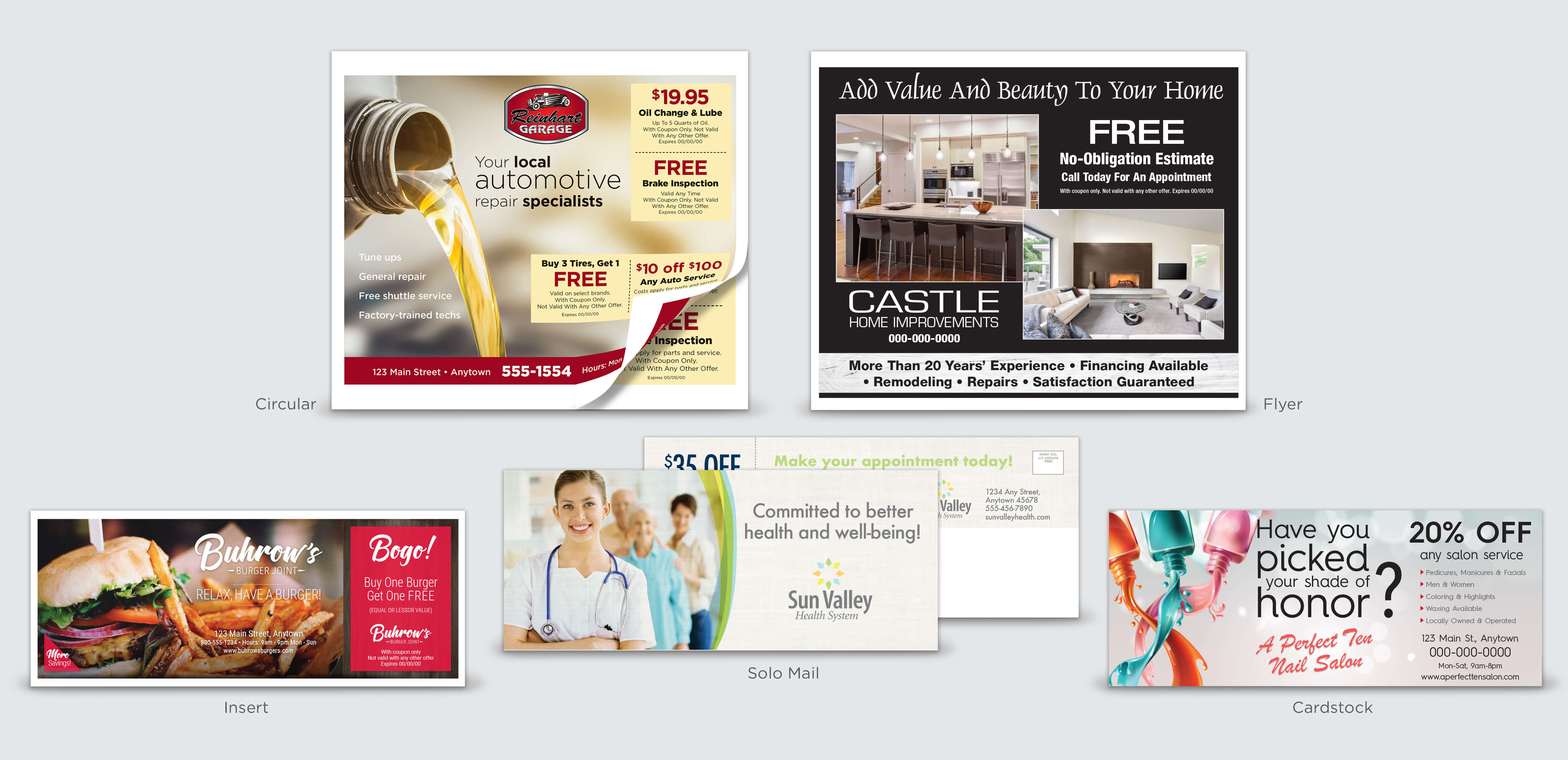 Clifton direct mail advertising
