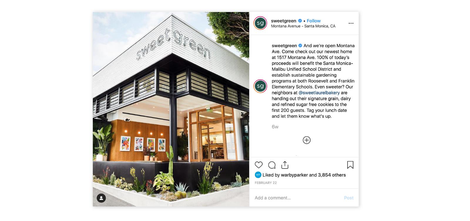 sweet green instagram restaurant porch photo