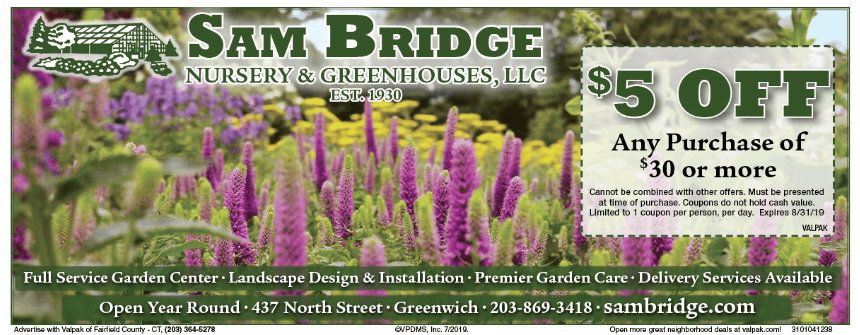 direct mail coupons in Fairfield county ct
