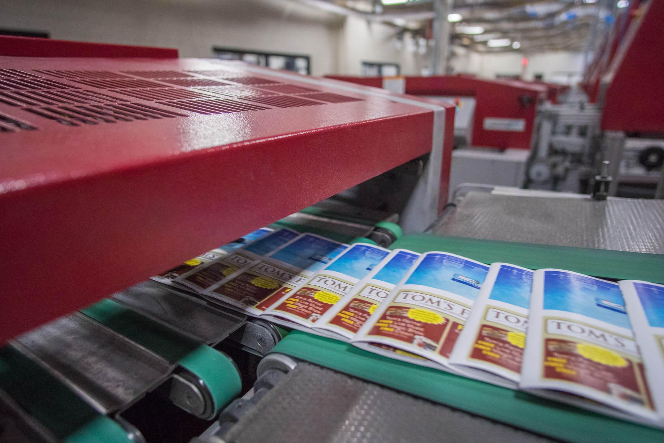 direct mail printed at VMC