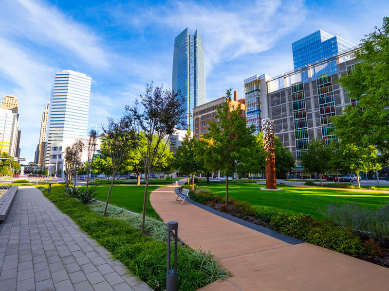 marketing and advertising for Oklahoma City