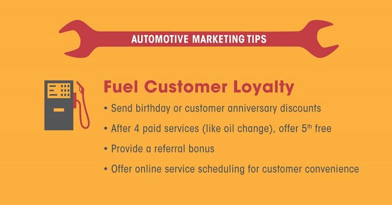 automotive marketing tips customer loyalty