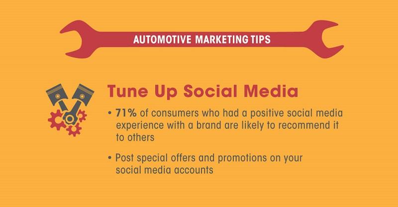 automotive marketing social media tips
